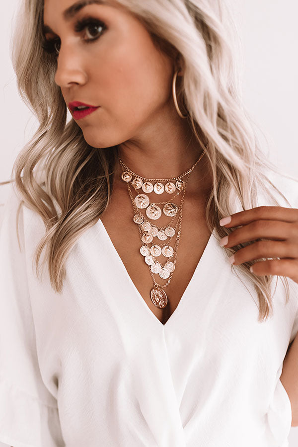 Weekend Wear Layered Necklace