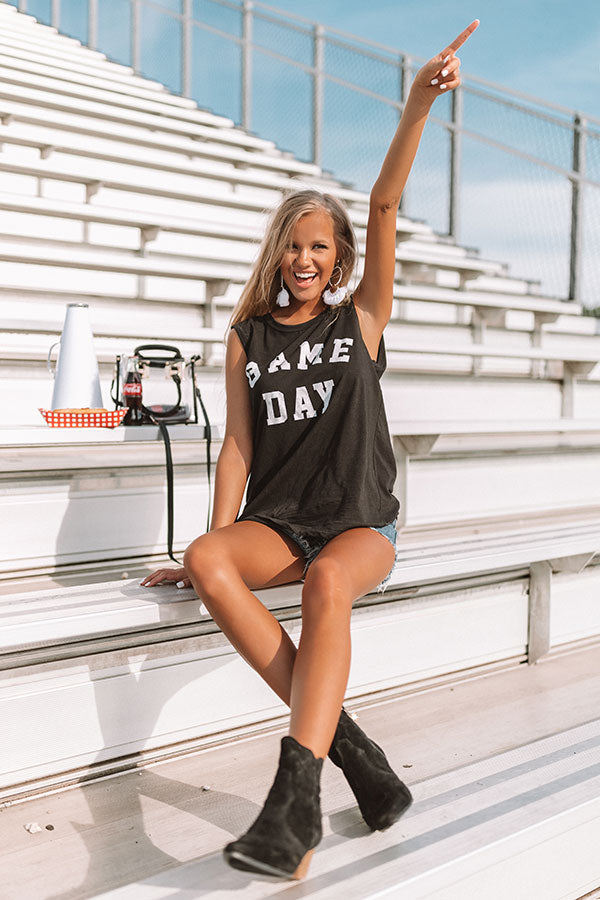 Gameday Shift Tank In Black