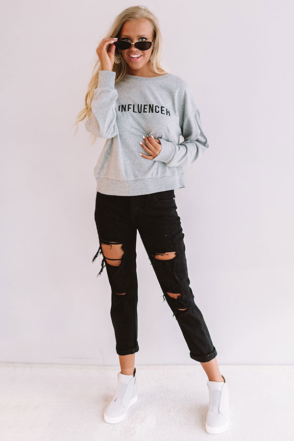 Influencer Sweatshirt