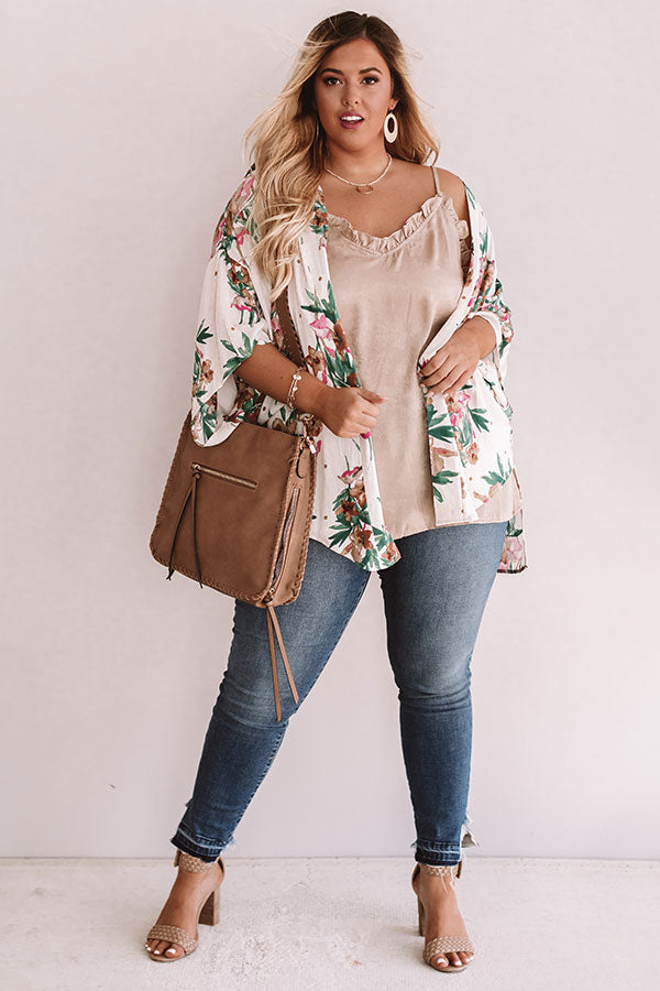 Summer Abroad Floral Overlay