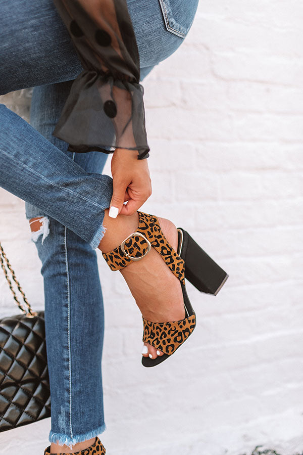 The Lawrence Leopard Heel