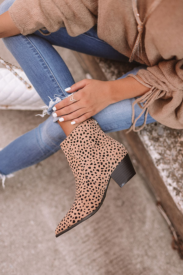 The Briar Leopard Bootie