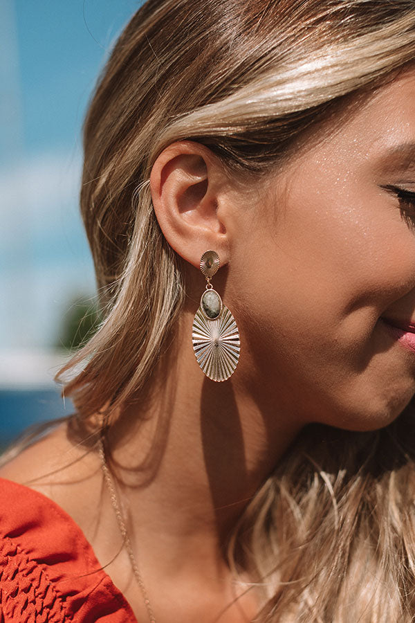 Soho Starlight Earrings in Grey