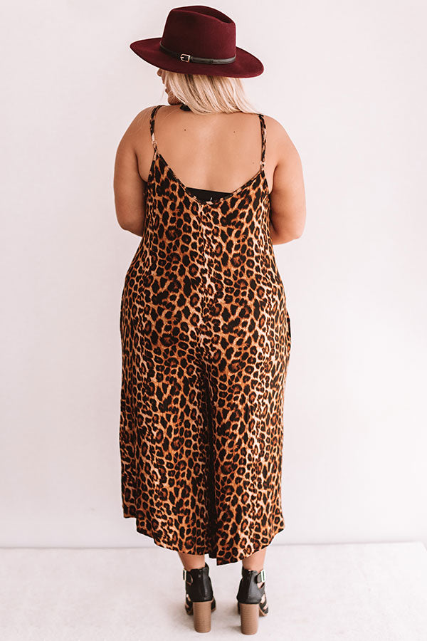 A Side Of Chic Leopard Jumpsuit