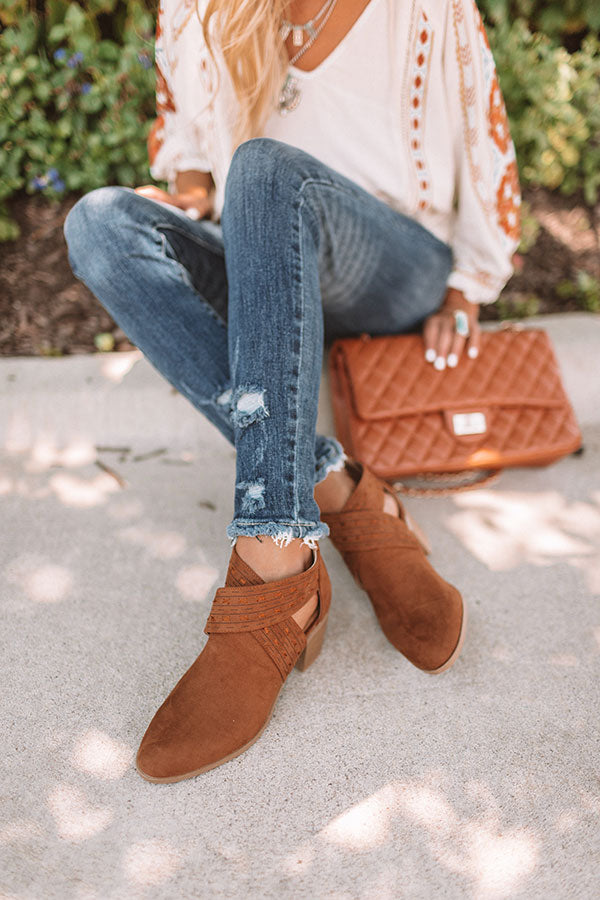 The June Bootie In Brown