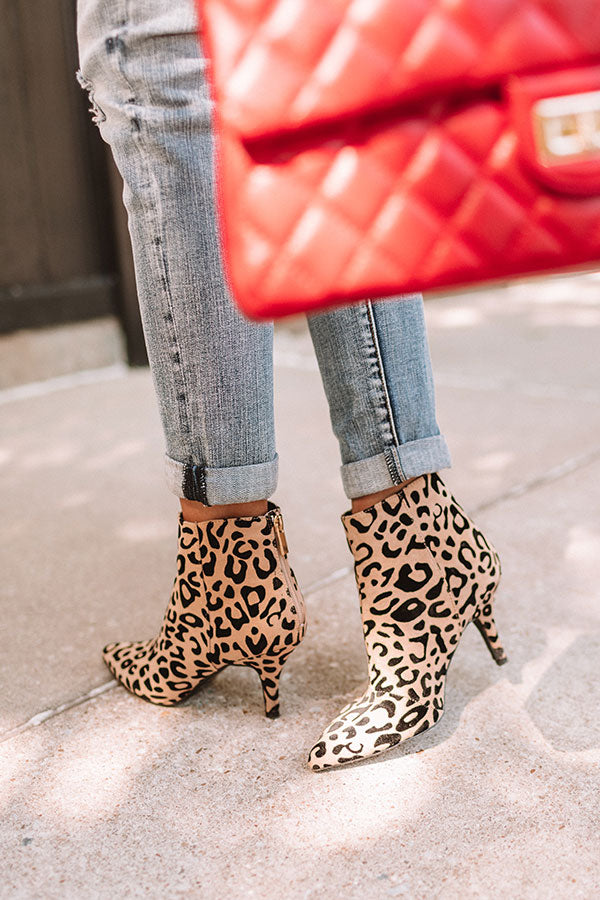 The Trixie Leopard Bootie