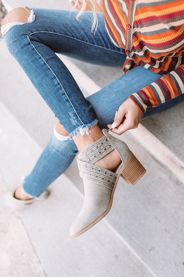 The June Bootie In Sage