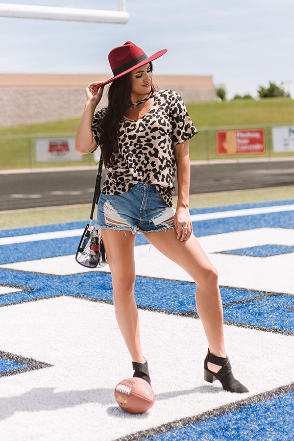 Weekend Obsession Leopard Top