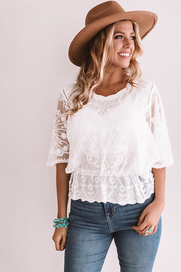 Delightful Days Crochet Top