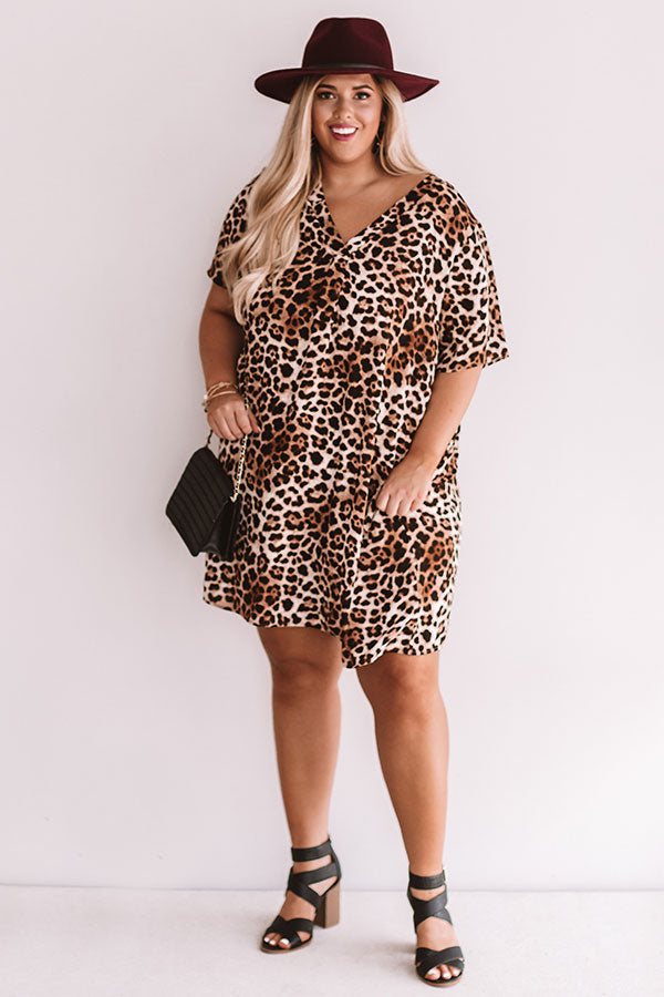 Suite Obsession Leopard Shift Dress