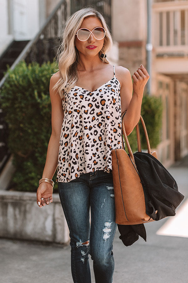 Stylish Staple Leopard Shift Tank