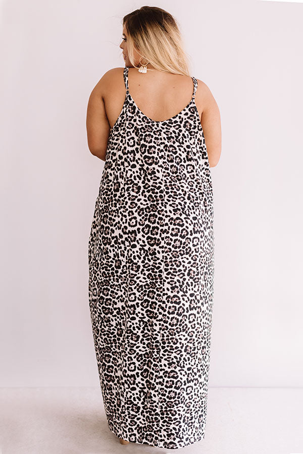 Chic City Style Leopard Maxi In Ivory
