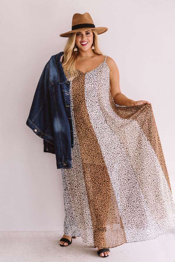 Totally Trending Leopard Maxi