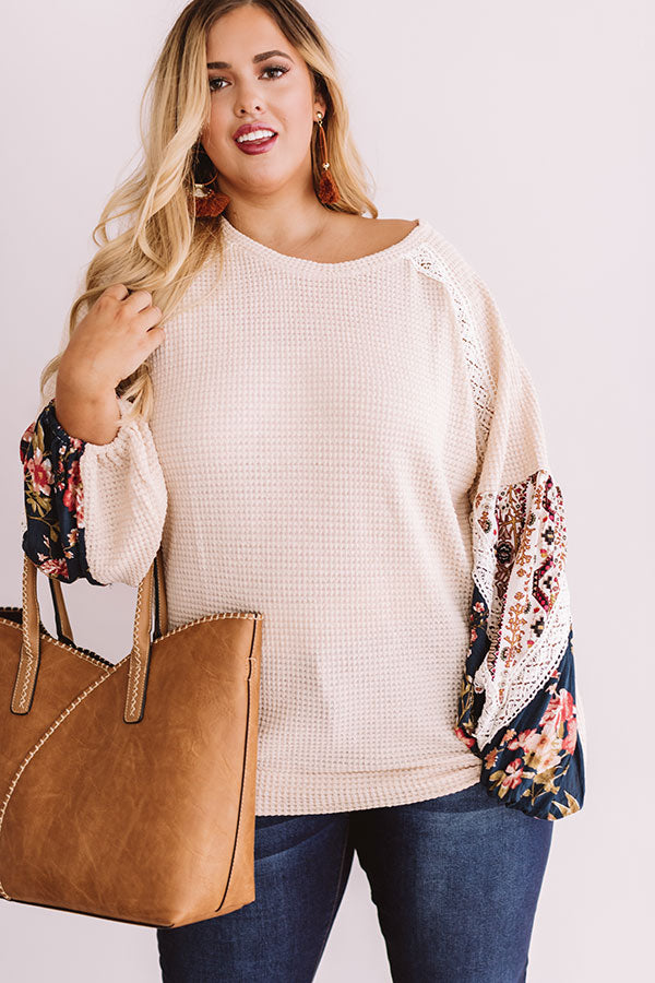 Stylish Standards Waffle Knit Top