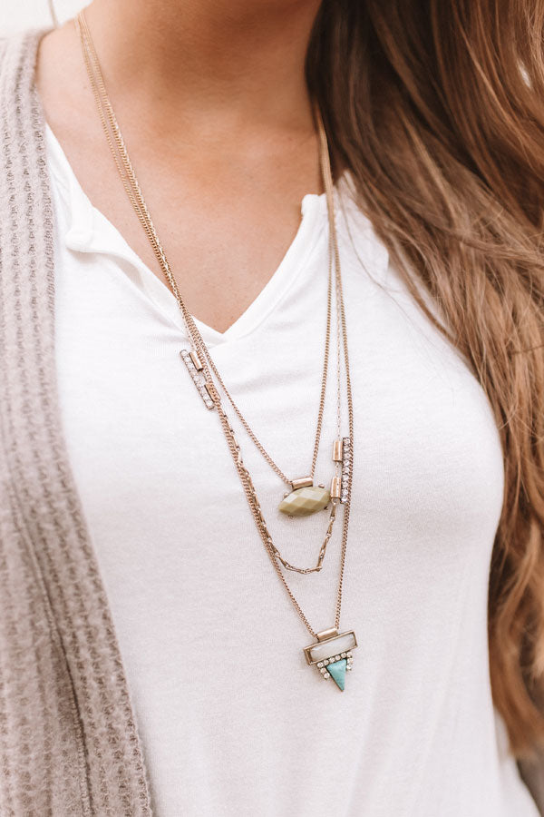 Across The Universe Layered Necklace