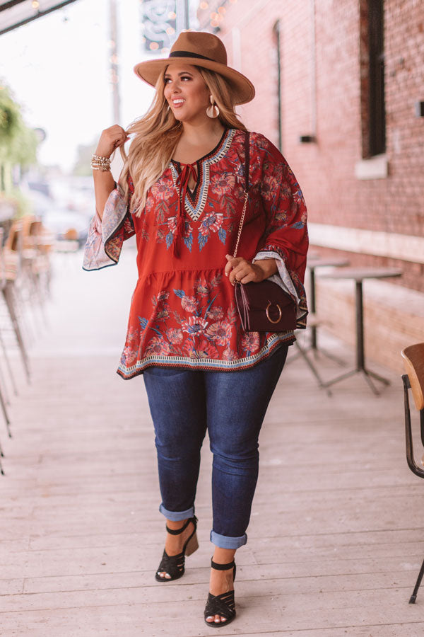 Changing Seasons Floral Top