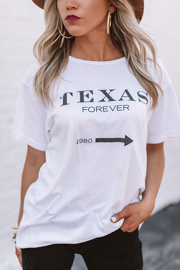 Texas Forever Shift Tee