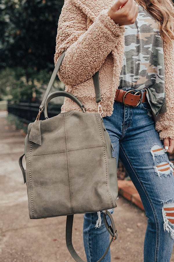 A-Lister Backpack in Olive