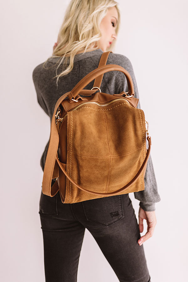 A-Lister Backpack in Brown