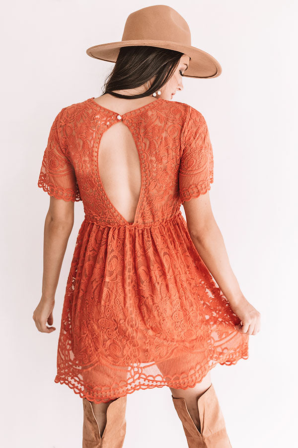 Pleased To Meet You Lace Dress