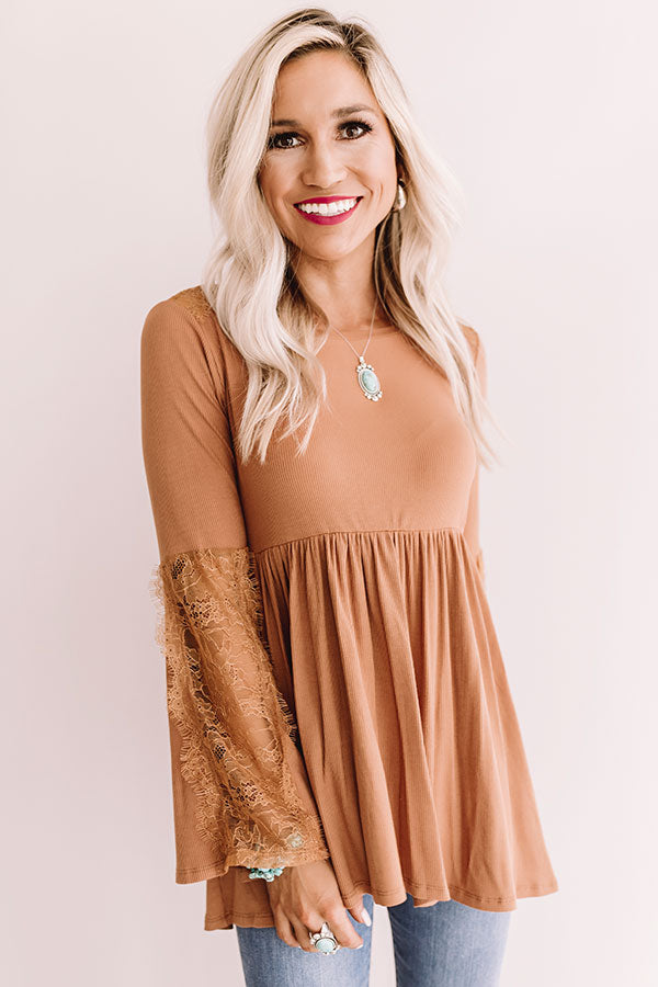 Boho In Soho Babydoll Top