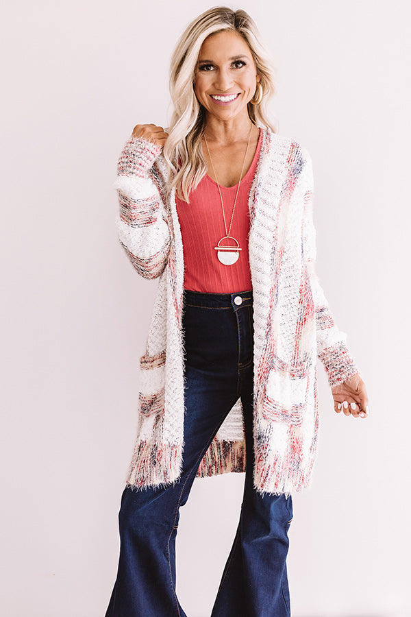 Blissfully Bundled Knit Cardigan