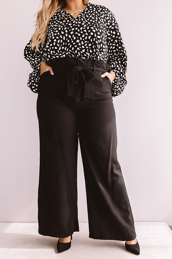The Selena High Waist Trousers