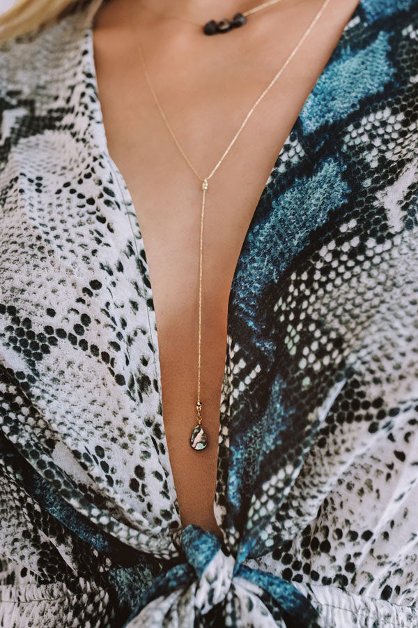 Fashion Savvy Lariat Necklace