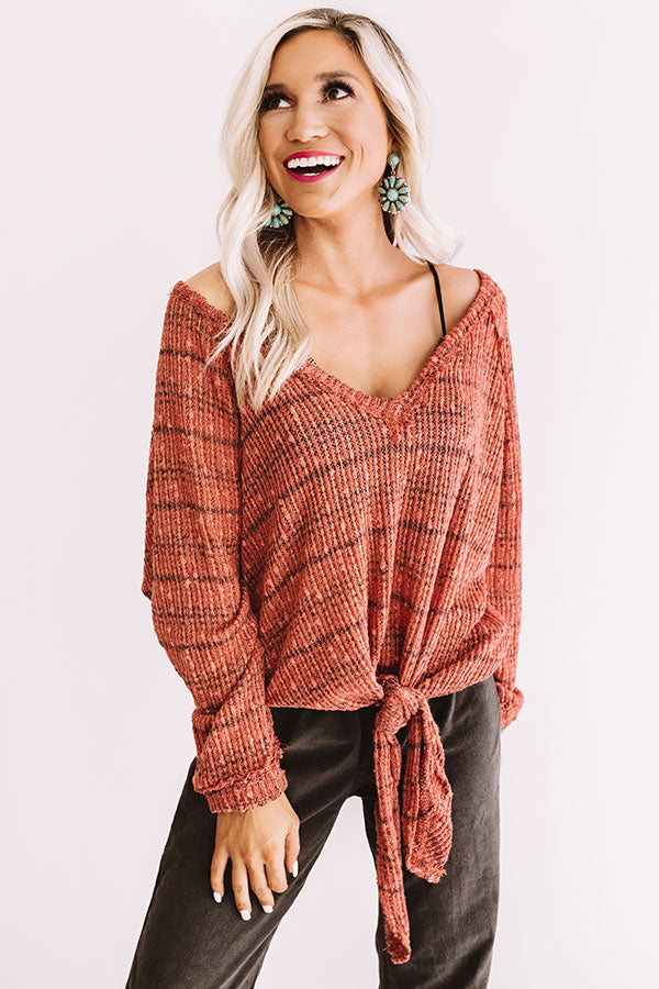 Adventure Ahead Knit Top