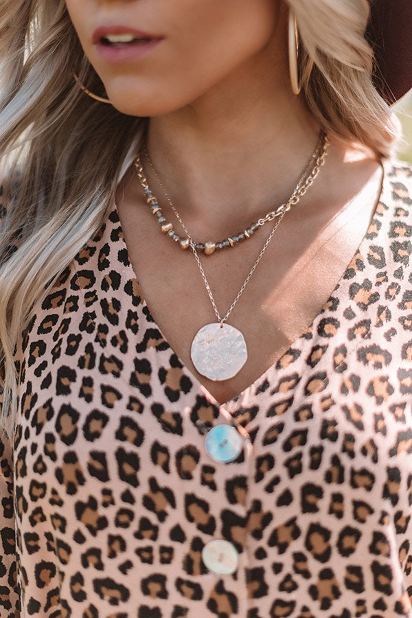 Soho Flow Necklace In Birch