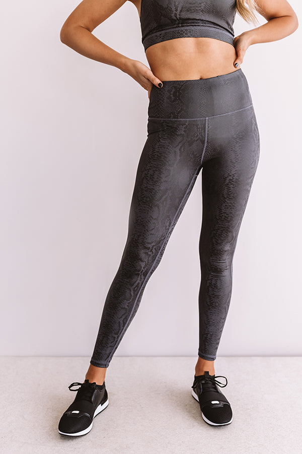 Money Moves High Waist Active Legging