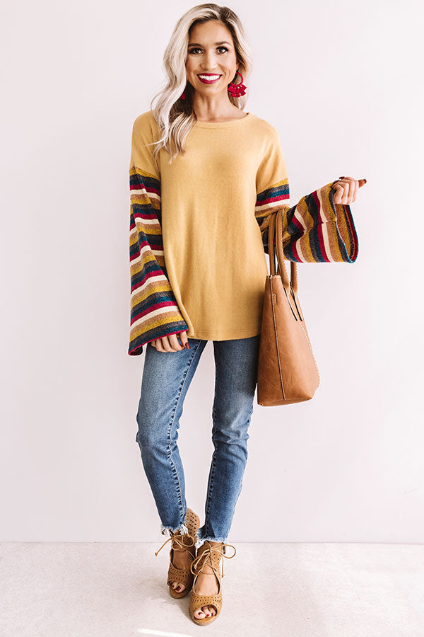 Let Your Flare Down Shift Sweater