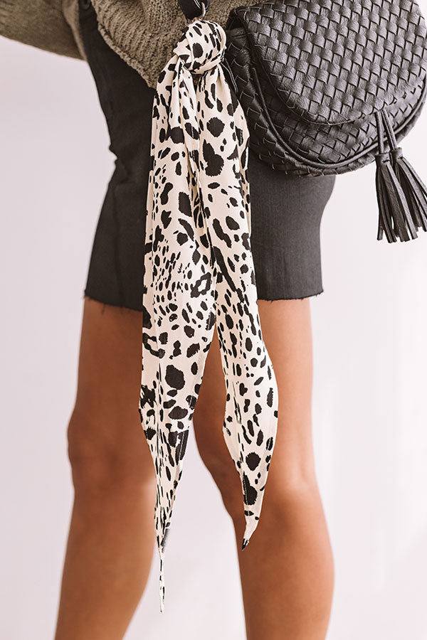 Ciao Bella Leopard Hair Scarf