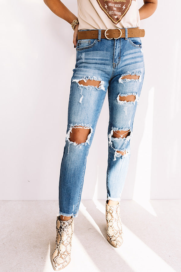 The Blaire High Waist Relaxed Skinny