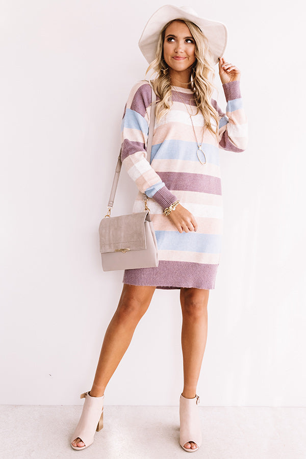 Good Looks And Grace Sweater Dress