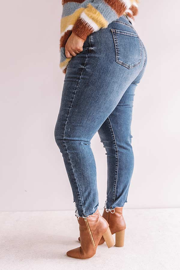 The Elliot High Waist Ankle Skinny