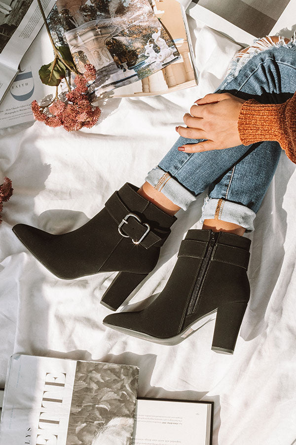 The Emmaline Bootie In Black