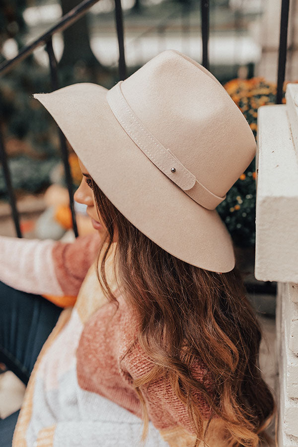 Classic Moment Wool Hat in Iced Latte