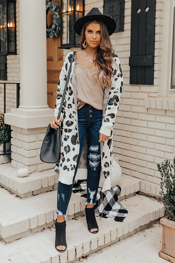 Brunching Babes Leopard Cardigan