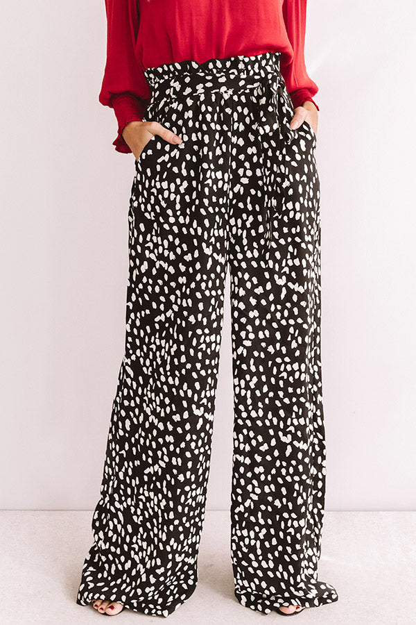 In The Lap Of Luxury High Waist Pants In Black