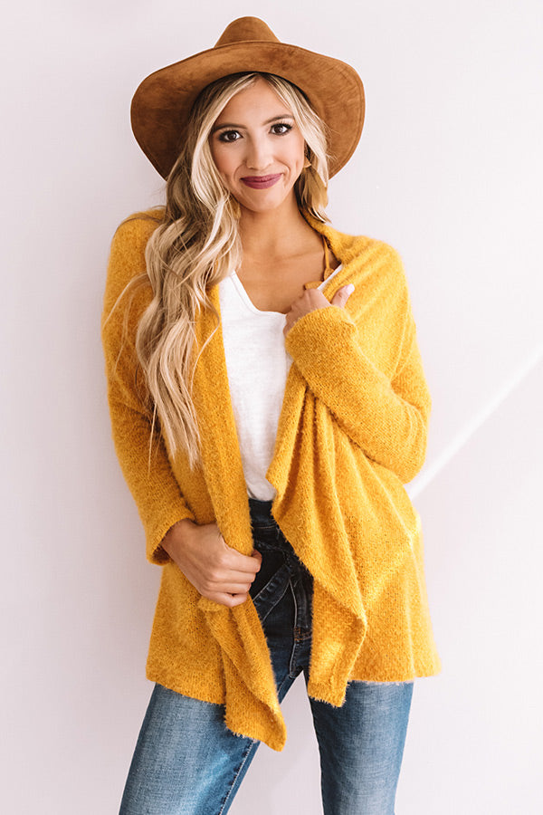 Central Park Sway Cardigan In Golden Honey