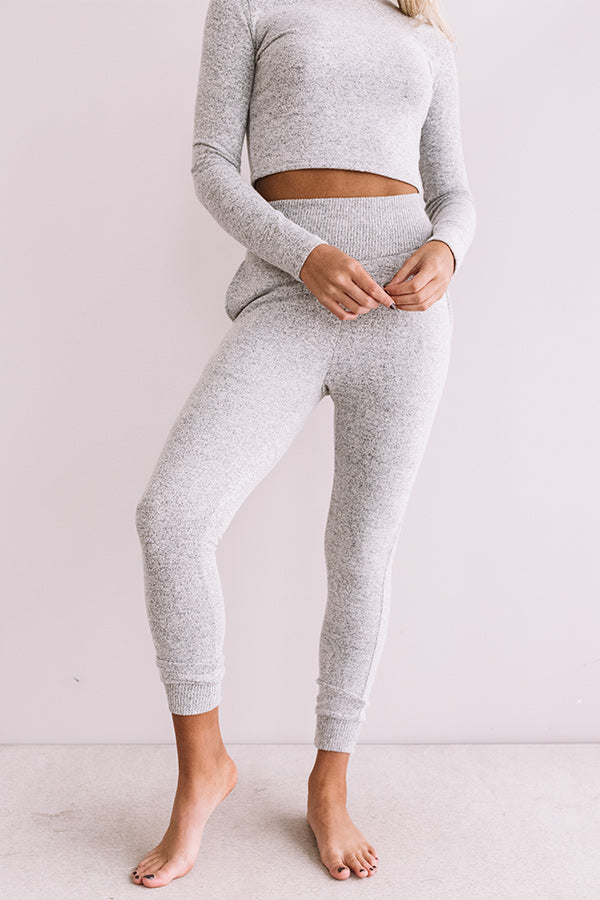 Newly Obsessed Joggers In Grey