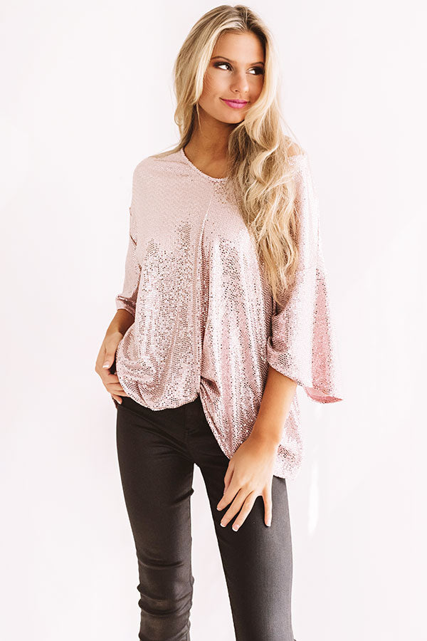 Chic, My Dear Sequin Top