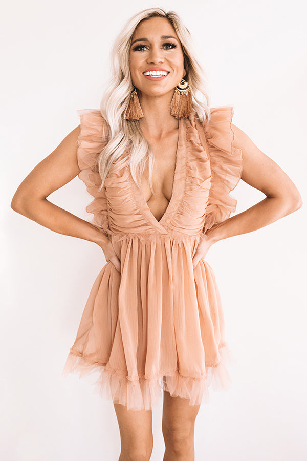 Ritzy In San Francisco Ruffle Romper