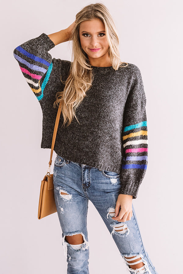 Spice And Splendor Shift Sweater