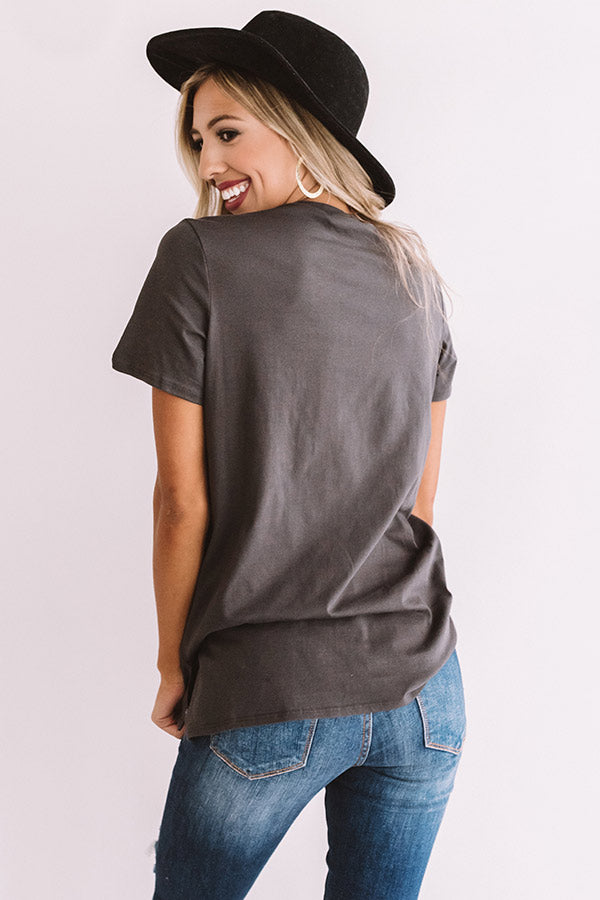 The Johnny Distressed Boyfriend Tee