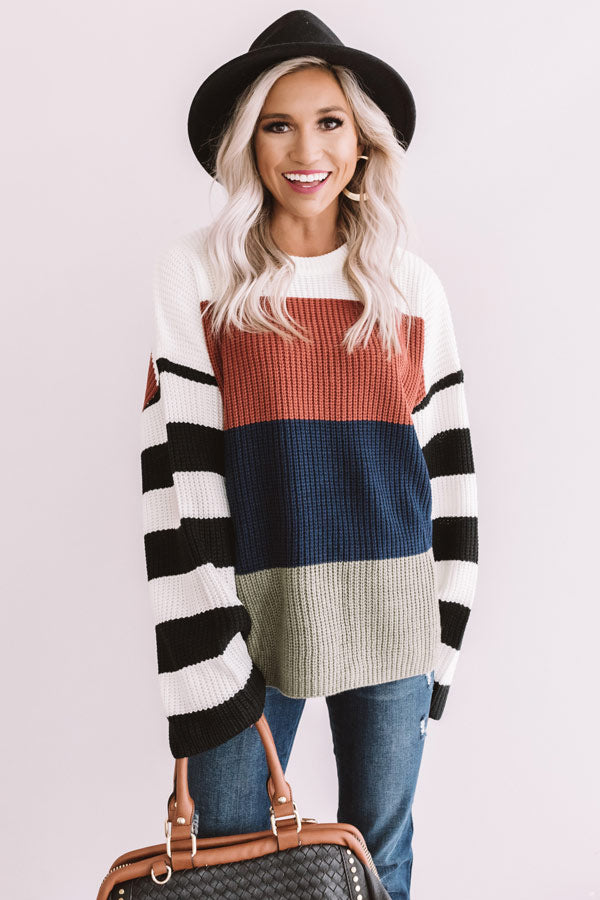 Cozy Situation Knit Sweater