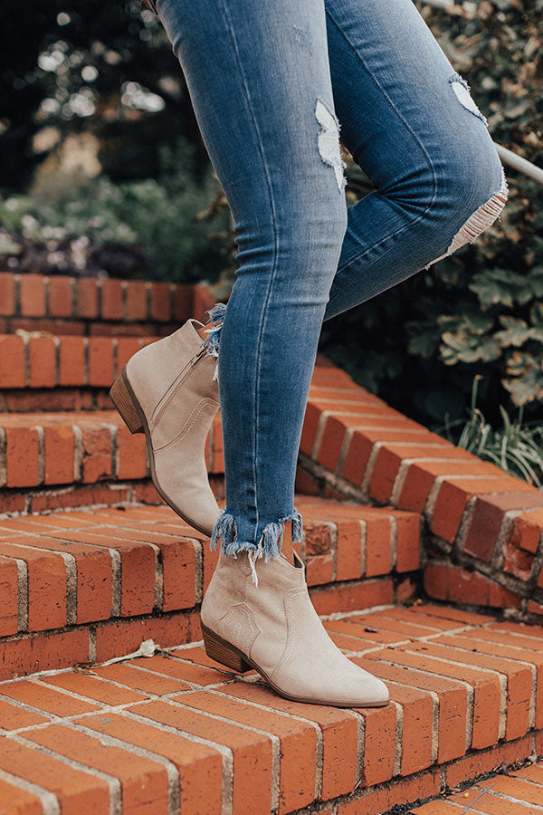 The Annabeth Bootie In Stone