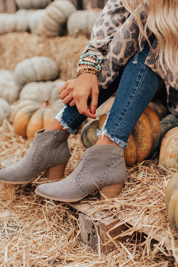 The Zimmerman Bootie In Grey