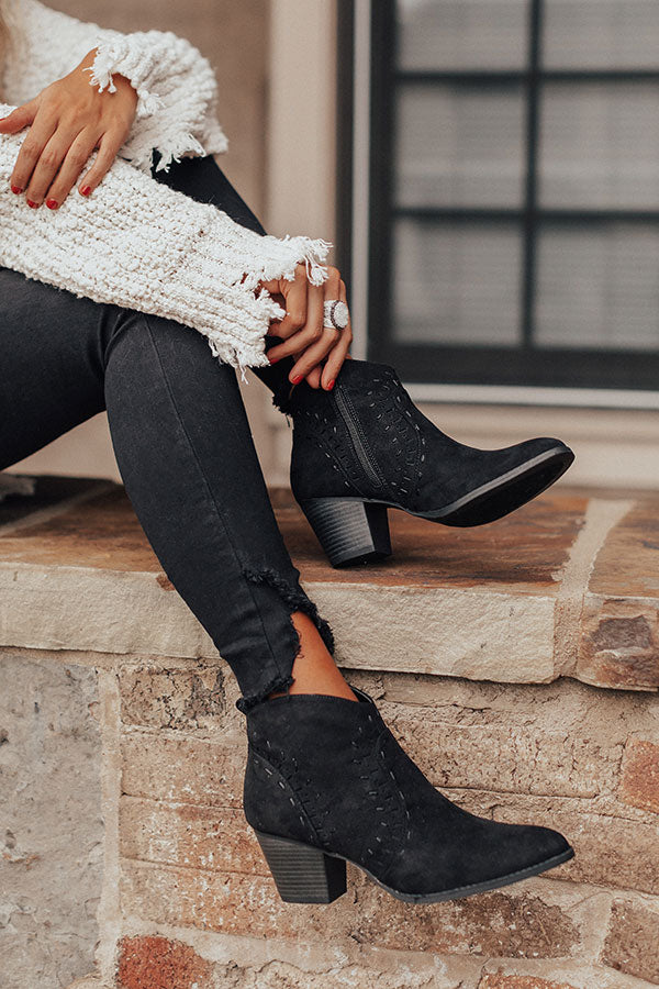 The Zimmerman Bootie In Black